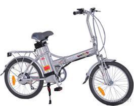 20寸可折叠电动脚踏车(锂电池,铝合金车架)