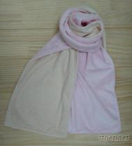AA-0033雙色保暖圍巾