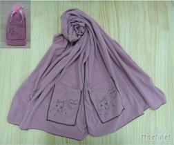 AA-0034 MIMO披肩, 圍巾, 蓋毯多用途
