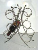蝴蝶型六瓶式酒架