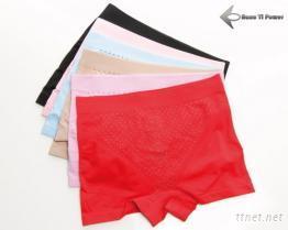 负离子能量提臀平口裤