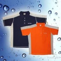 奈米鈦寶-鈦能量男性POLO衫