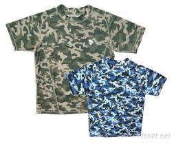 奈米鈦寶-鈦能量迷彩T恤