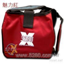 5280揹提式保龄球单袋-魅力红