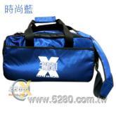 5280進階可揹提保齡球雙球袋-時尚藍