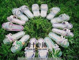 玉米皮草編織家居拖鞋室內涼鞋賓館一次性草鞋