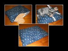 桧木宠物座垫