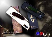 羽毛蘸水筆,禮品筆,工藝筆,廣告筆贈品筆,辦公文具贈品筆