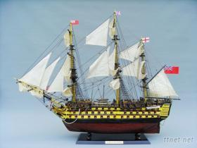 胜利号帆船模型