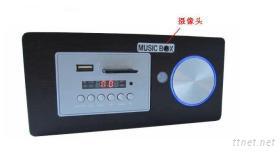MP3音樂播放,紅外體溫感應音箱攝像機-KDV70