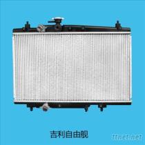 吉利自由舰(CK-1)汽车散热器水箱