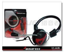 頭戴式耳機A30