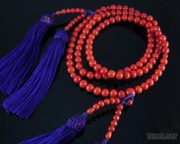 贵重珊瑚108颗圆珠念珠