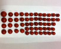 赤血紅珊瑚圓珠
