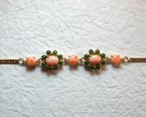 粉紅珊瑚手鍊