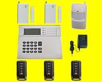 GSM遠程無線有線對碼式現場防盜報警器