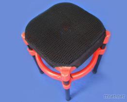 蜘蛛透氣網墊, 雙層式, 隔熱, 防震, 四腳椅專用