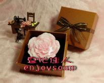 母親節康乃馨手工皂禮盒