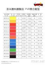 柰米顏料調製品  PVB預分散型