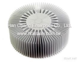 散熱片-CNC車銑複合加工