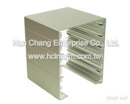 鋁伺服器機殼-CNC車銑複合加工