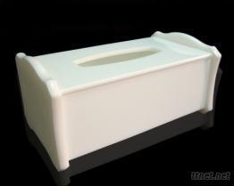 白色压克力抽取式面纸盒