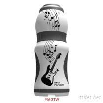 水壺造型SD插卡式MP3播放器-白色