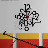 創意壁貼時鐘