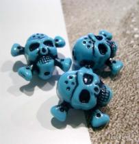 土藍水洗珠,亞克力珠子,飾品配件
