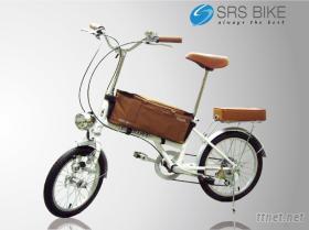 16吋 SHIMANO 6速復古麻吉車