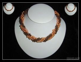 珍珠花式項鏈