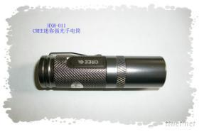LED强光CREE充电迷你手电筒HXM-011