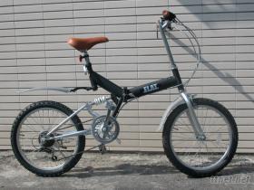 20吋6速高碳钢折叠自行车(日本品牌FLAT)