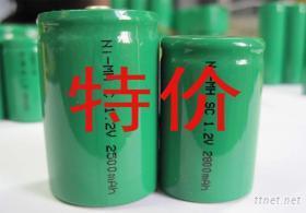 鎳氫電池,電池組,可充,環保,AA.SC.C.D型電池