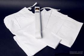 空手道白色道服