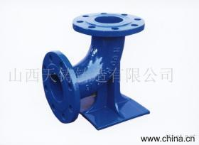 鴨腳彎頭ductile iron pipe fittings