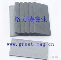 格力特磁選機選礦機鐵氧體方塊磁鐵礦石