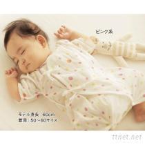婴儿纯棉双层纱布内衣