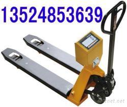 手推液壓叉車秤價格|1噸手動叉車秤|寧波電子拖盤車秤|2噸帶打印功能叉車稱