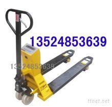 江蘇1T叉車秤|1噸手動液壓搬運叉車秤|2噸手推叉車帶秤|帶稱重的液壓叉車