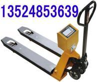手推液壓叉車秤價格 1噸手動叉車秤 寧波電子拖盤車秤 2噸帶打印功能叉車稱