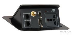 可藏式桌面插座JS-220V