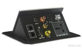 可藏式桌面插座JS-550+