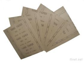 石英砂木砂紙