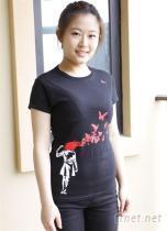 Gildan Softstyle 100%有機棉製造 女款 超舒適印花T恤 可以定製喔