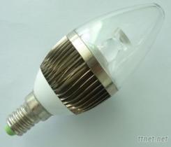 鳍片式 2.5W LED蜡烛灯(三星 2.5W)