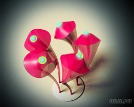桌燈-五旋草