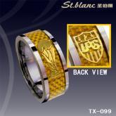 時尚鎢鋼戒指