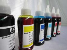 打印机耗材,喷墨墨水,墨盒连供,填充墨水,染料墨水