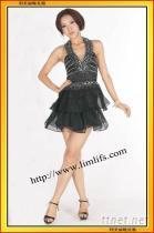 利美麗GN02132#經典黑色小禮服宴會小禮服 公主裙小姐短禮服